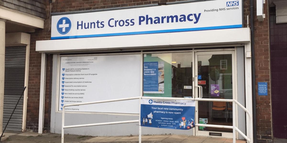 Hunts Cross Pharmacy storefront