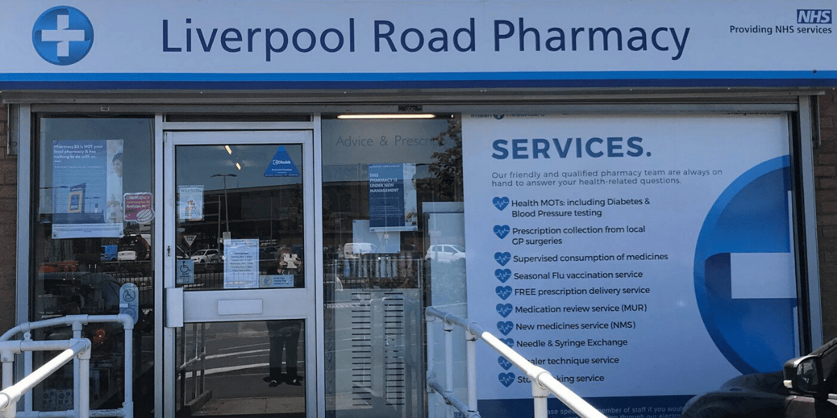Liverpool Road Pharmacy storefront
