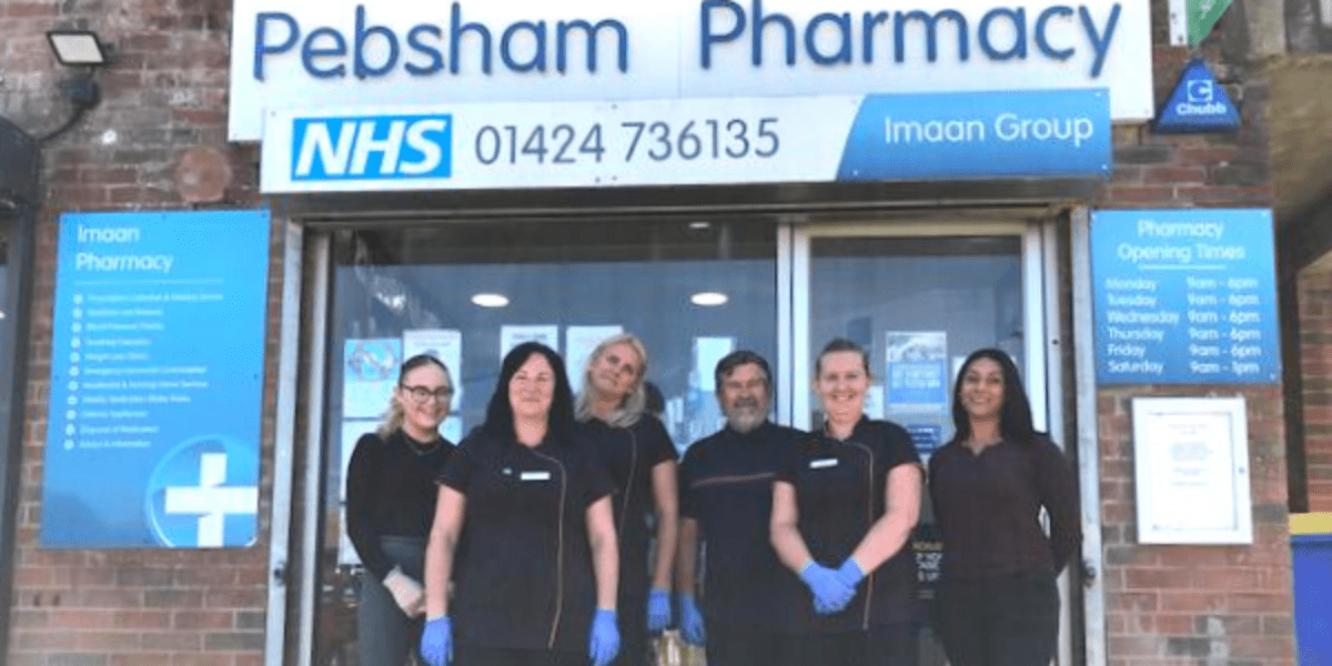 Pebsham Pharmacy storefront