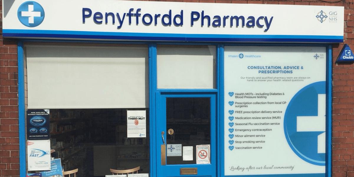 Penyffordd Pharmacy storefront