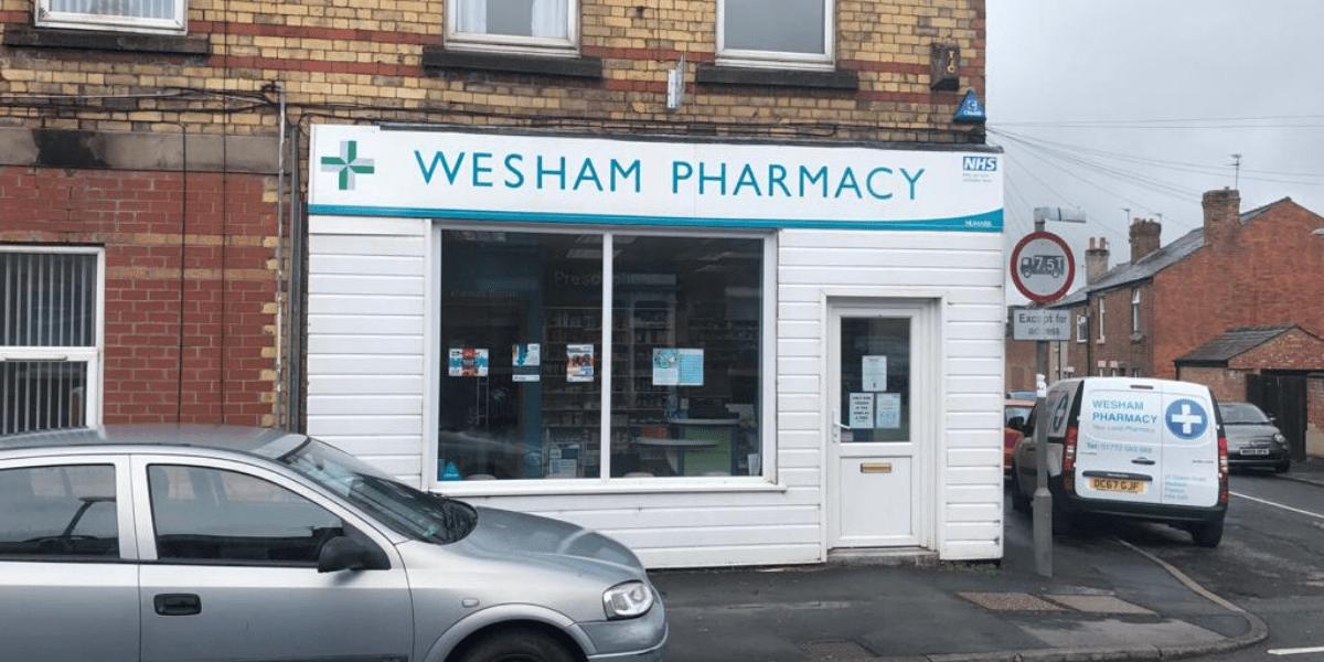 Wesham Pharmacy storefront