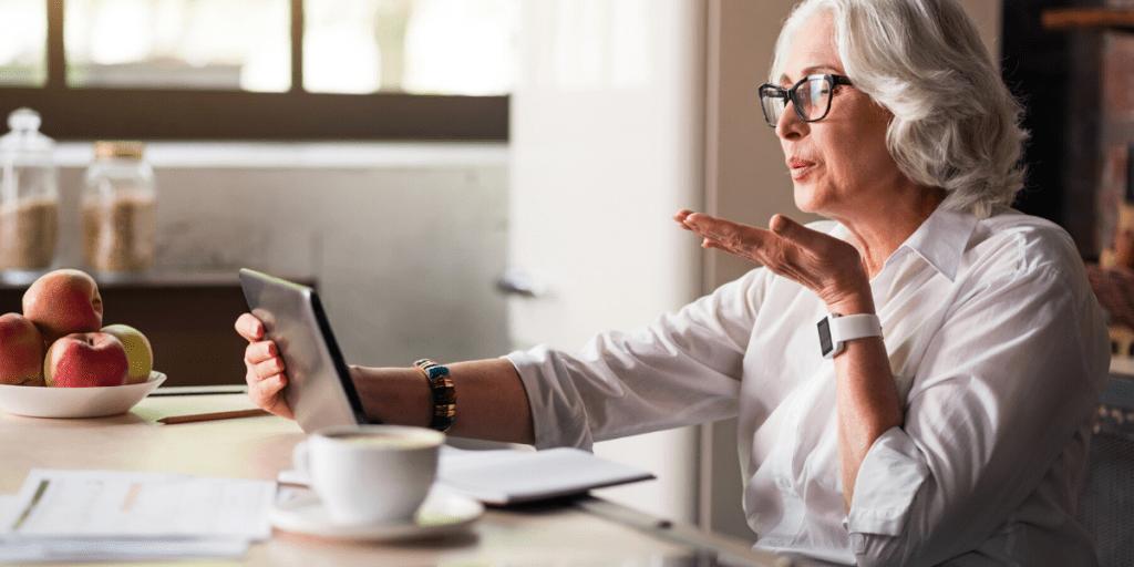 Talk online to avoid endangering your family