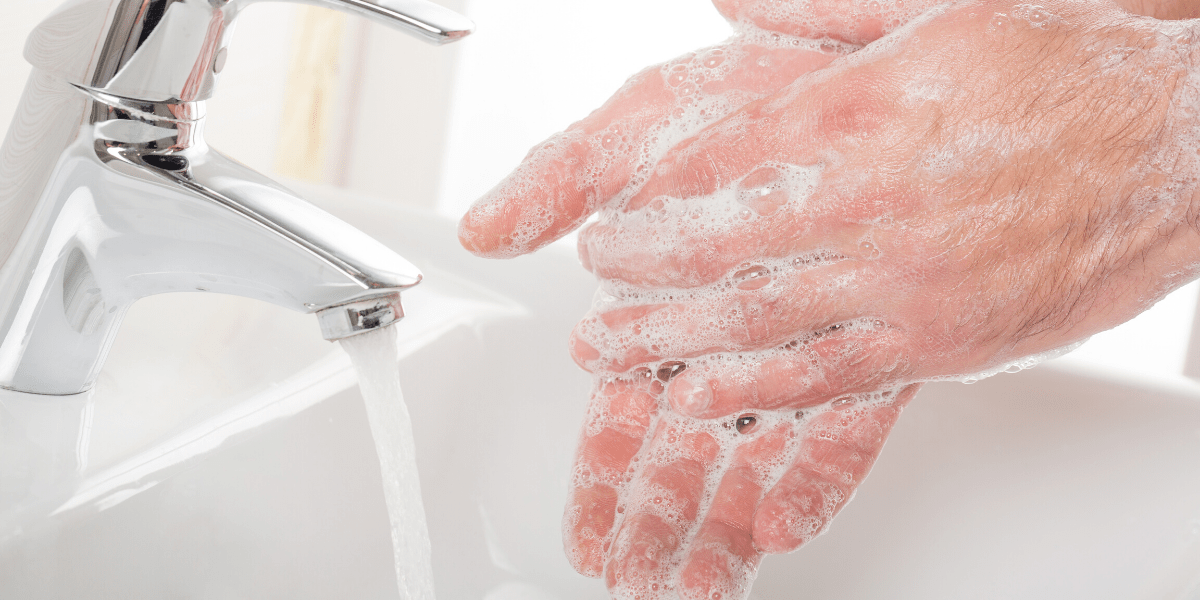 Wash your hands for 20 seconds to avoid contracting coronavirus