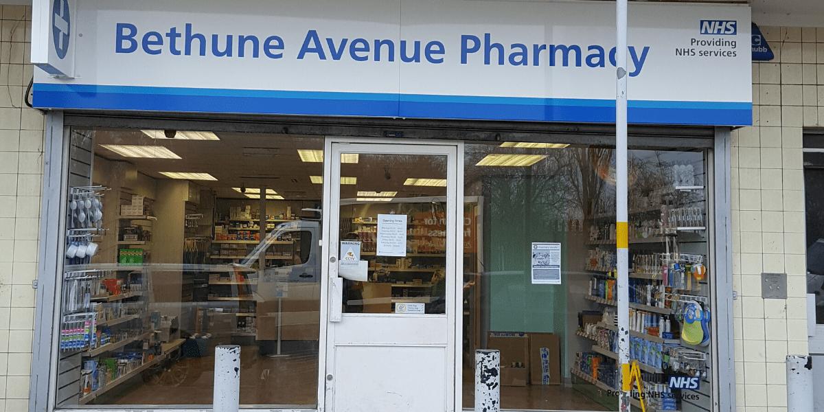 Bethune Pharmacy storefront
