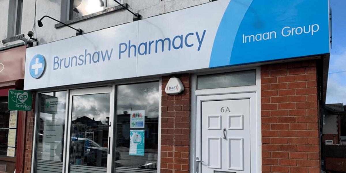 Brunshaw Pharmacy storefront