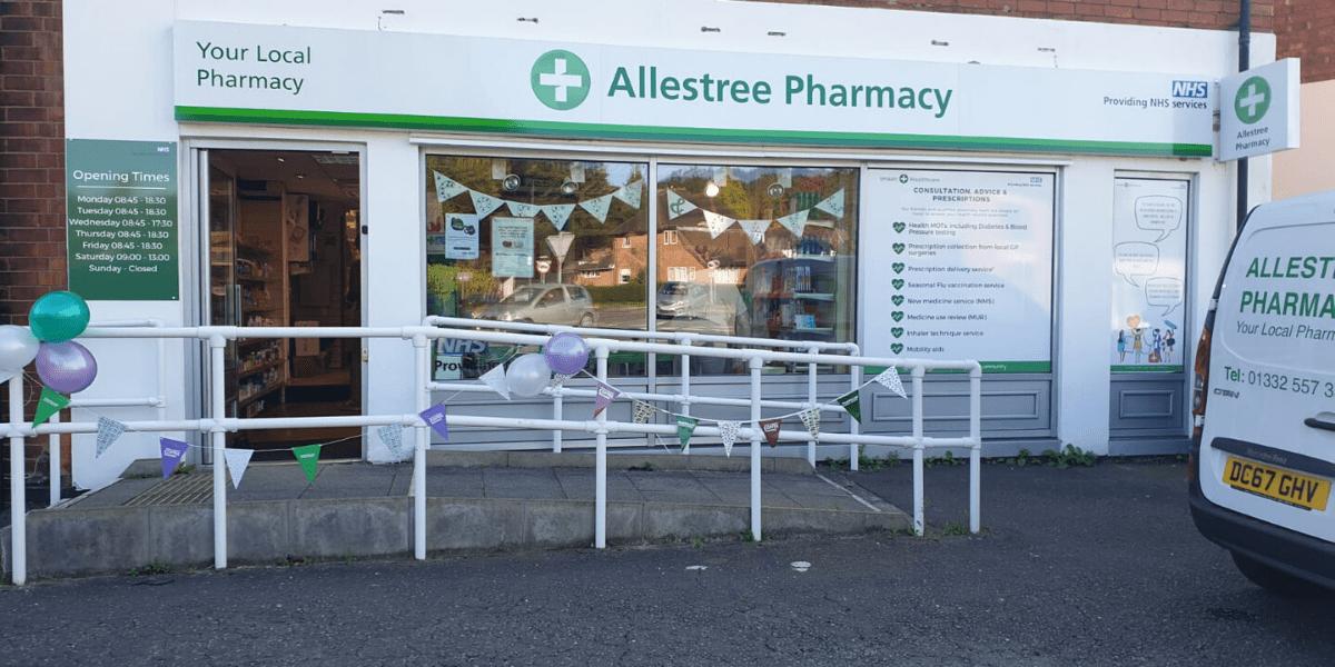 Allestree Pharmacy storefront