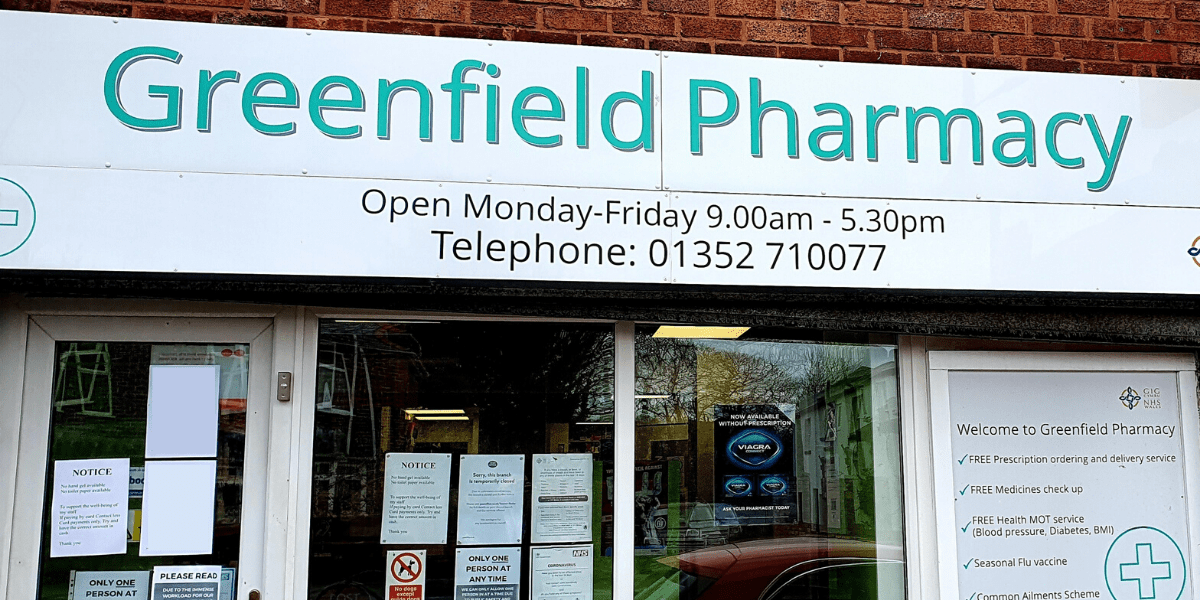 Greenfield Pharmacy storefront