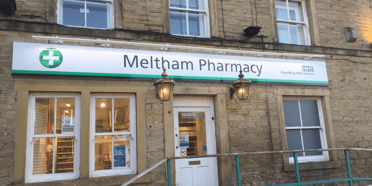 Meltham Pharmacy storefront