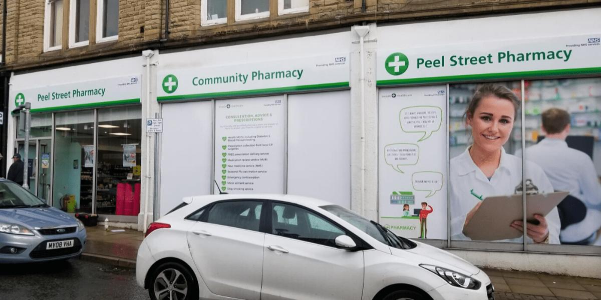 Peel Street Pharmacy storefront