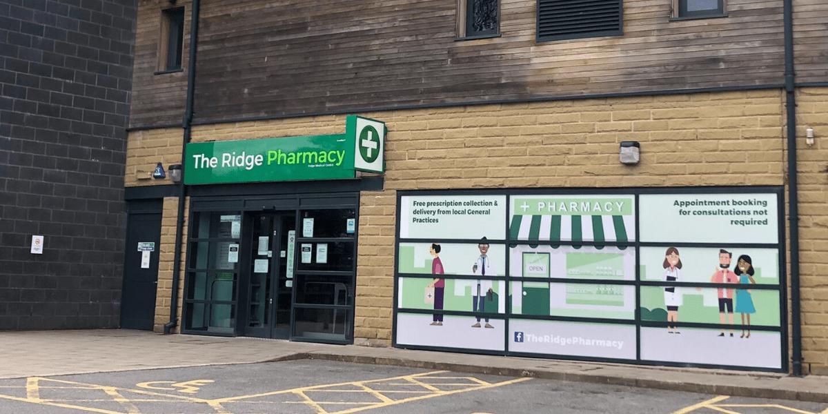 The Ridge Pharmacy storefront