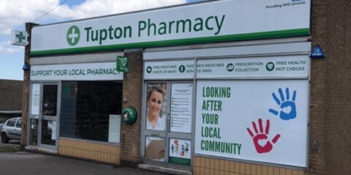 Tupton Pharmacy storefront