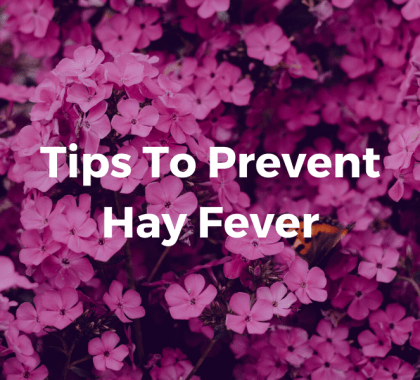Tips To Prevent Hay Fever