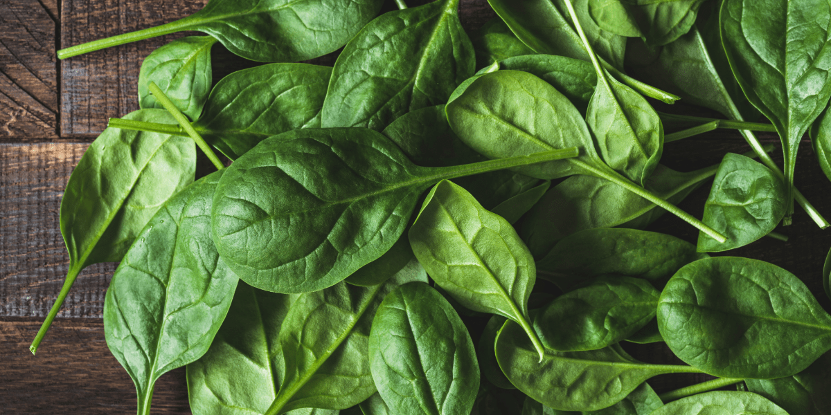 immune boosting Spinach salad