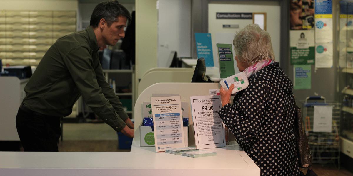 Electronic prescription service sign up